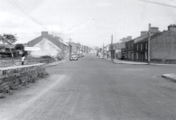Photo taken fro Golf Links Road facing towards Goff Street (1950's)
