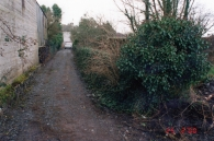 Old lane way at the back of Main Street (2000)