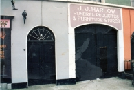 Harlow's Lane Entrance from Main Street 1990's
