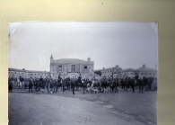 The New Gaol was built 1814 and demolished 1948. Roscommon Hunt around 1930-1935