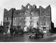 Old Gaol, Roscommon Town, built mid 1700's. Photo taken around 1940's - 1950's.