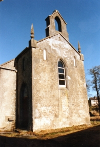 The former Kilteevan Catholic Church, this historic building is now a Community Centre.