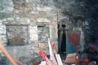 Old out buildings at the back of Main Street (2000)