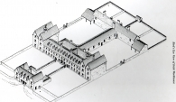Layout of Roscommon Workhouse